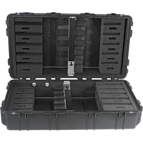 Pelican™ 1780 Transport Case - Black Foam Rifle Insert (10 Gun)