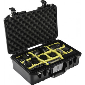 Pelican™ 1485 Air Case - Padded Dividers - Yellow