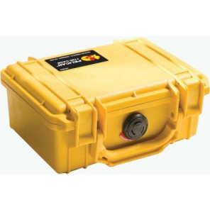 Pelican™ 1150 Case-No Foam-Yellow