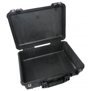 Pelican™ 1500 Medium Case No Foam - Black