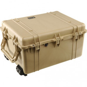Pelican™ 1660 Case-No Foam-Desert Tan