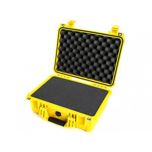 Pelican™ 1450 Case-Foam-Yellow