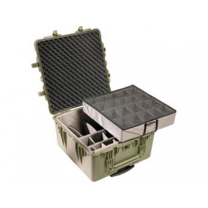 Pelican™ 1640 Case-Dividers and Lid Foam-Olive Drab Green