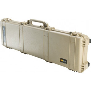 Pelican™ 1750 Weapons Case-Foam-Desert Tan