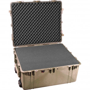 Pelican™ 1690 Transport Case-Foam-Desert Tan