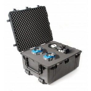 1690B, Pelican 1690 Transport Case Foam Black, Pelican Transport Case