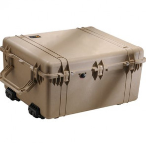 Pelican™ 1690 Transport Case-Dividers and Lid Foam-Desert Tan