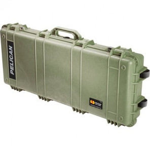 Pelican™ 1700 Transport Case-No Foam-Olive Drab Green