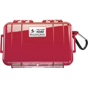 Pelican™ 1040 Micro Case-Red with Black