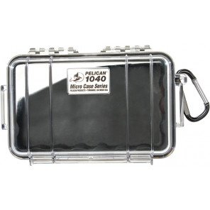 Pelican™ 1040 Micro Case-Clear with Black