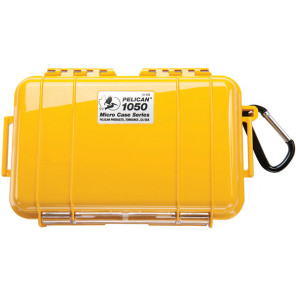 Pelican™ 1050 Micro Case-Yellow with Black