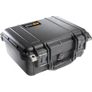 Pelican™ 1400 Medium Case No Foam - Black