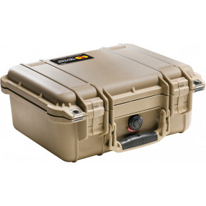 Pelican™ 1400 Case-No Foam-Desert Tan