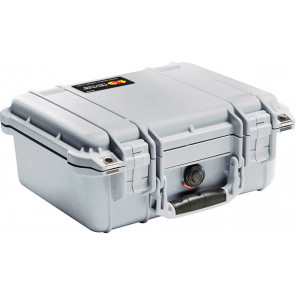 Pelican™ 1400 Case-No Foam-Silver