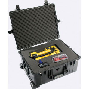 Pelican 1610AB Case Foam Black, Pelican Large Case, JP Cases