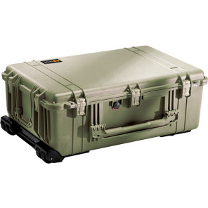 Pelican™ 1650 Case-No Foam-Olive Drab Green