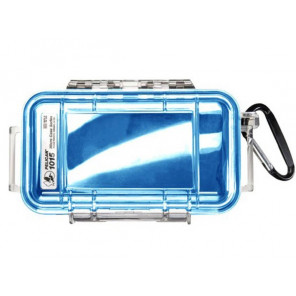 Pelican™ 1015 Micro Case-Clear with Blue
