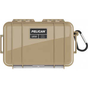 Pelican™ 1050 Micro Case - Desert Tan With Black