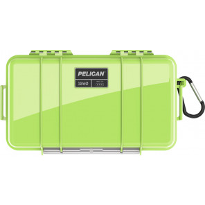 Pelican™ 1060 Micro Case - Bright Green with Black