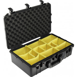 Pelican™ 1555 Air Case with Padded Dividers - Black
