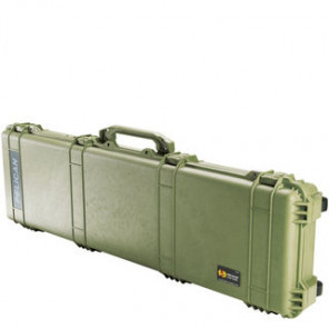 Pelican™ 1750 Weapons Case-No Foam-Olive Drab Green