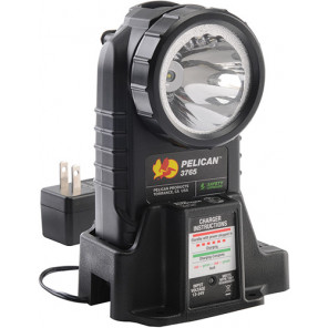 Pelican™ 3765 Right Angle Light Rechargable-Black