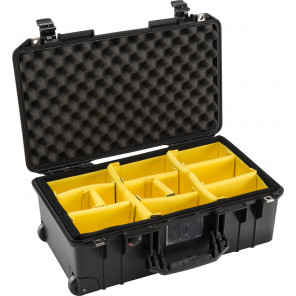 Pelican™ 1535 Air Case-Padded Dividers-Silver