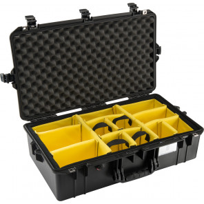 Pelican™ 1605 Air Case-Padded Dividers-Black