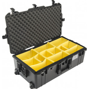 Pelican™ 1615 Air Case-Padded Dividers-Yellow
