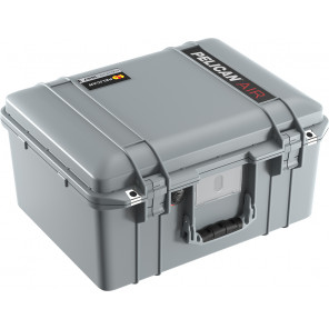 Pelican™ 1557 Air Case-With Padded Dividers-Silver