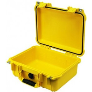 Pelican™ 1400 Case-No Foam-Yellow