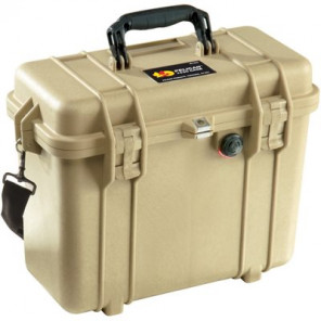 Pelican™ 1430 Case-No Foam-Desert Tan
