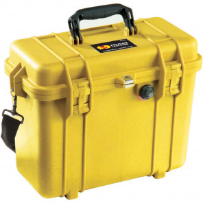 Pelican™ 1430 Case-No Foam-Yellow