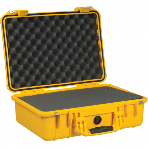 Pelican™ 1500 Case-Foam-Yellow