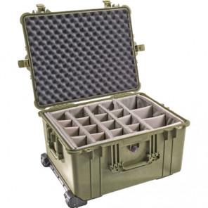 Pelican™ 1620 Case-Dividers – Lid Foam-Olive Drab Green