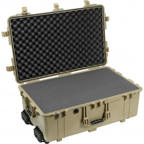 Pelican™ 1650 Case-Foam-Desert Tan