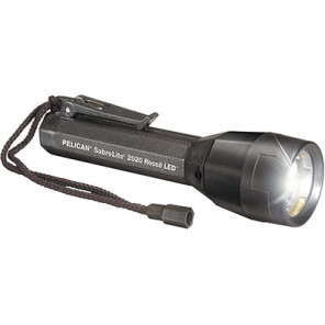 Pelican™ 2020B SabreLite™ 1W Led 50mm Recoil Flashlight Black