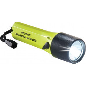 Pelican™ 2410iY StealthLite™ 4AA 1w Led Flashlight 35mm Recoil Yellow