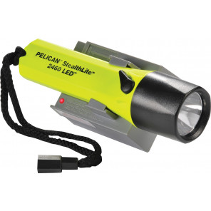 Pelican™ 2460YL StealthLite™ Rechargeable LED Flashlight Yellow