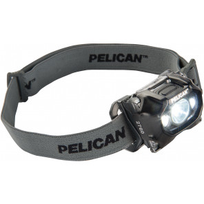 Pelican™ 2760B Pro Gear LED Headlite Head Lamp Black