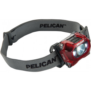 Pelican™ 2760R Pro Gear LED Headlite Head Lamp Red
