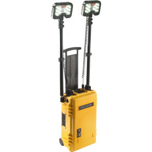 Pelican™ 9460MY 2-head Remote Area Lighting System Gen 3 Mobility Yellow