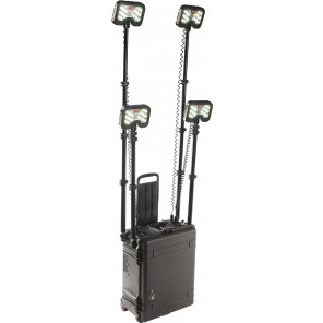 Pelican™ 9470CB 4-head Remote Area Lighting System Gen 3 Black