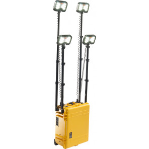 Pelican™ 9470CY 4-head Remote Area Lighting System Gen 3 Yellow