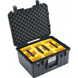 Pelican™ 1557 Air Case-With Padded Dividers-Black