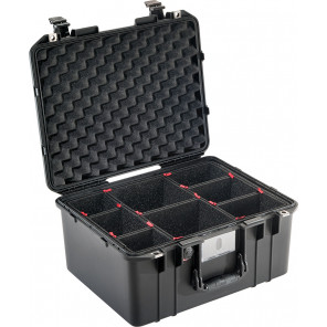 Pelican™ 1557 Air Case-With TrekPak Divider System-Black