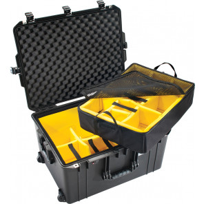 Pelican™ 1637 Air Case-With Padded Dividers-Black