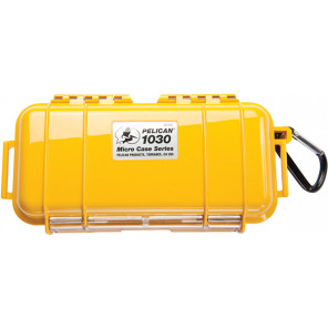 Pelican™ 1030 Micro Case-Yellow with Black